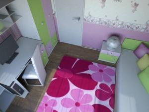 3D проект на детска стая
