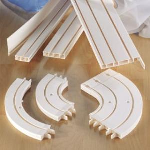 PVC корниз-монтаж таван