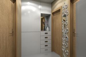 3D проект коридора / в реализации ..